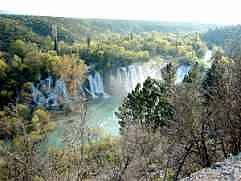 Kravica falls, a great holiday experience